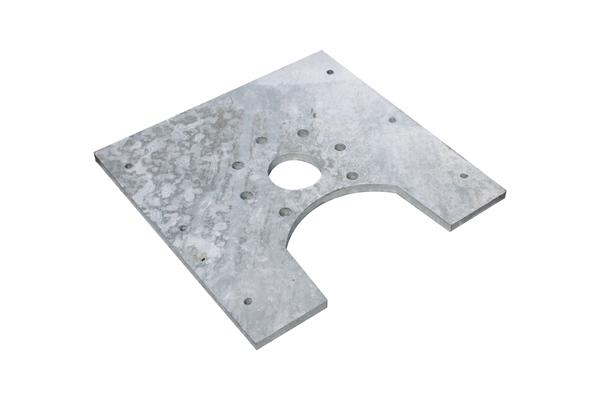 Deckplatte (Rührwerksplatte oben)
