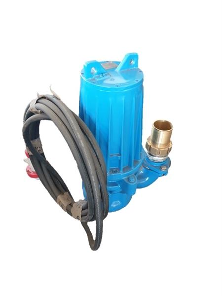 "Recyclingwasserpumpe T39-65 EGGEGR 7,5 kW hochverschleißfest 3""- Abgang mit Schlauchtülle"
