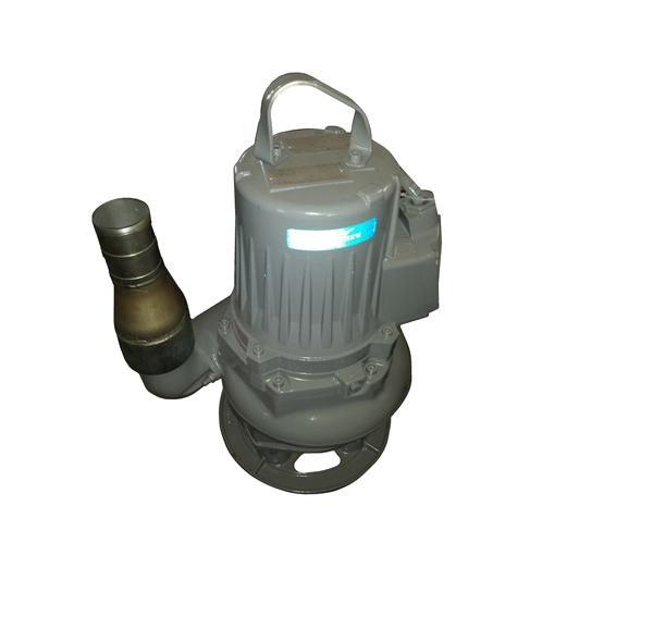 """Recyclingwasserpumpe FLYGT 7,4KW hochverschleißfest mit 3""""-Abgang mit Schlauchtülle"""