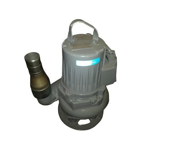 """Recyclingwasserpumpe 7,4KW hochverschleißfest mit 3""""-Abgang mit Schlauchtülle"""