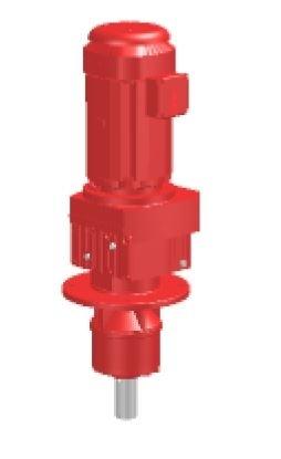 Getriebemotor WEMA Weisskircher RM97, für Rührwerk P=5,5 kW/50Hz, Flansch 450mm